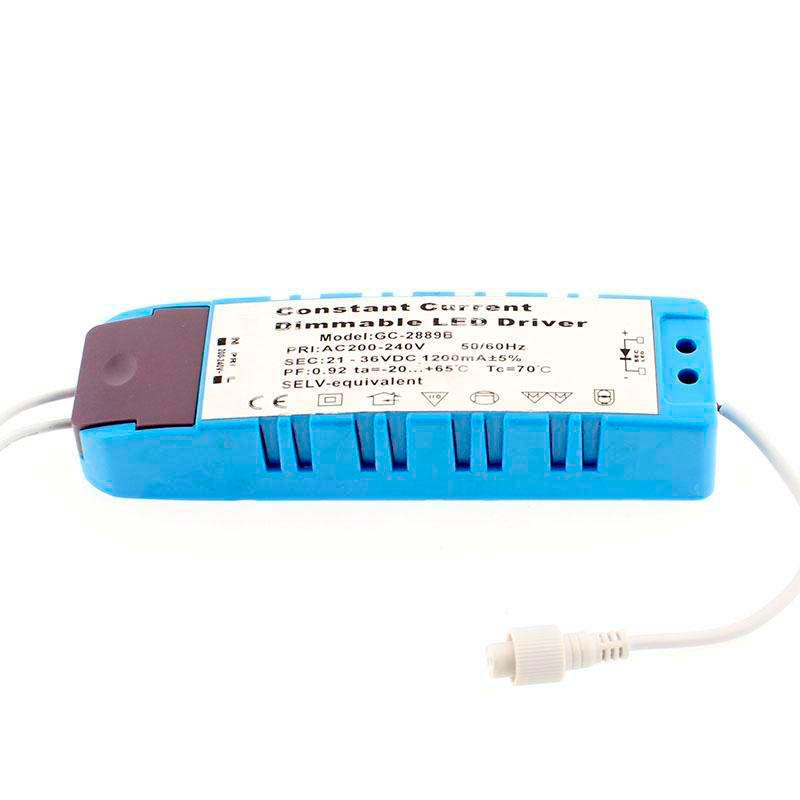 LED Driver DC21-36V/43W/1200mA, Regulable, Regulable